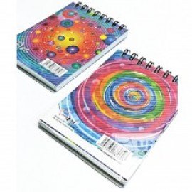 image of UNI RING NOTE BOOK A7 (S3362) 3 FOR