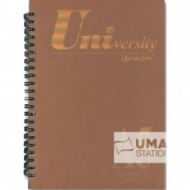 image of UNI UNIVERSITY NOTE BOOK A5 (3 SUBJECT) S-6820