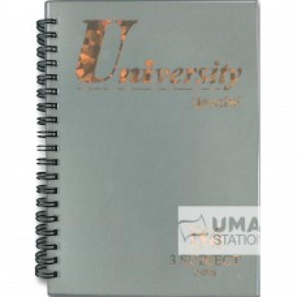 UNI UNIVERSITY NOTE BOOK B6 (3 SUBJECT) S-5720