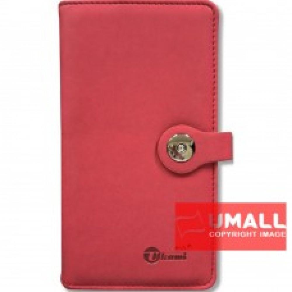 "UKAMI PVC WALLET NOTE BOOK 4"" X 7.5"" (S-8304)"
