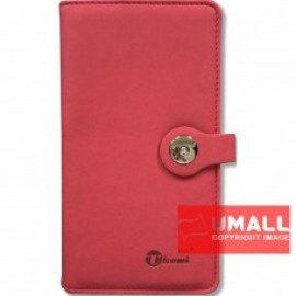 "image of UKAMI PVC WALLET NOTE BOOK 4"" X 7.5"" (S-8304)"