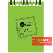 image of UKAMI RING NOTE BOOK A7 (S3151) 2 FOR