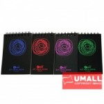 UKAMI RING NOTE BOOK A7 (U-3342) 3 FOR