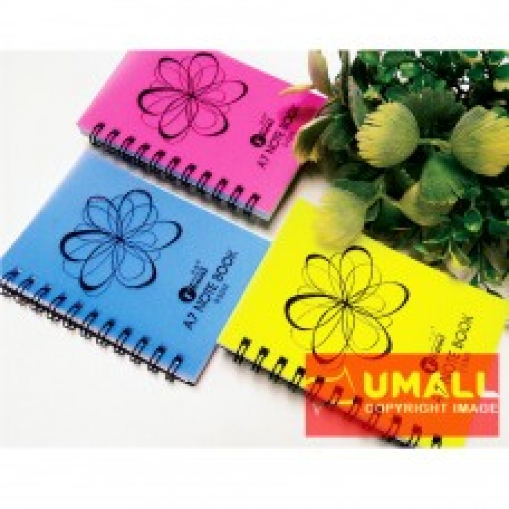 UKAMI RING NOTE BOOK A7 (U-3343) 3 FOR