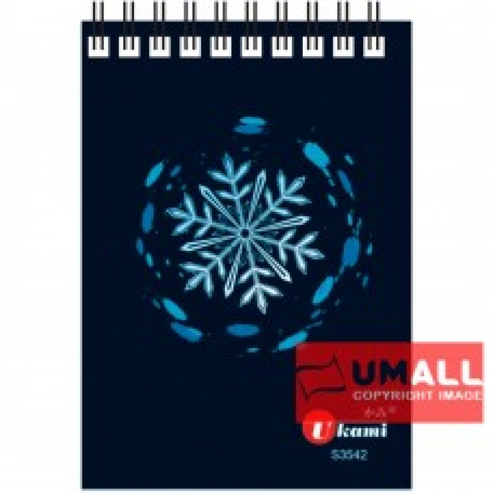 UKAMI RING NOTE BOOK A7 (S3542) 3 FOR