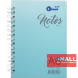 image of UKAMI RING NOTE BOOK A6-80GSM 120'S (S4164) 2 FOR