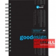 image of UKAMI RING NOTE BOOK A5 (S-6283)
