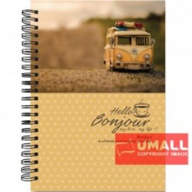 image of UKAMI RING NOTE BOOK 70GSM A5-120'S (S6384)