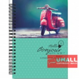 image of UKAMI RING NOTE BOOK 70G 120'S (S6386)