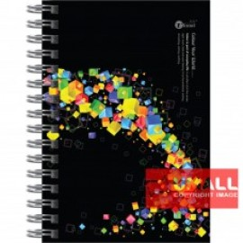 image of UKAMI RING NOTE BOOK A6 (S-6523)