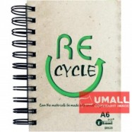 image of UKAMI RING NOTE BOOK A6 S6529