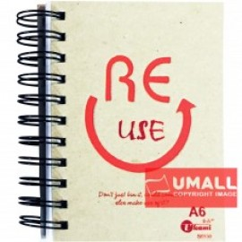 image of UKAMI RING NOTE BOOK A6 S6530