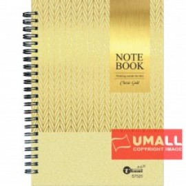 image of UKAMI RING NOTE BOOK 80G A5 (S-7525)