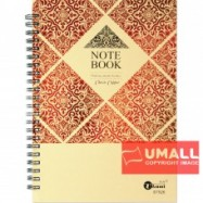 image of UKAMI RING NOTE BOOK  80G A5 (S-7526)