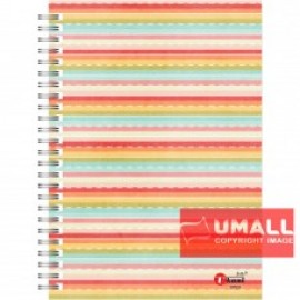 image of UKAMI RING NOTE BOOK 70G A5-120 (S7531)