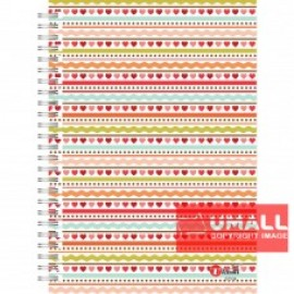 image of UKAMI RING NOTE BOOK 70G A5-120 (S7534)