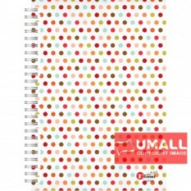 image of UKAMI RING NOTE BOOK 70G A5-120 (S7536)