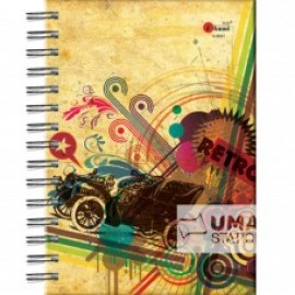 image of UKAMI RING NOTE BOOK A5 (S8521)