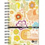 image of UKAMI RING NOTE BOOK  A5 (S8522)