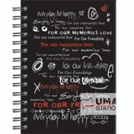 image of UKAMI RING NOTE BOOK A5 (S8523)