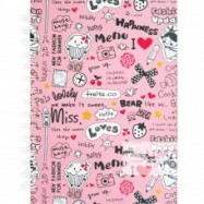 image of UKAMI RING NOTE BOOK A5 (S8524)