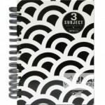 UKAMI 3-SUBJECT RING NOTE BOOK A5 (S8525)
