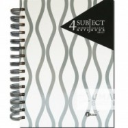 image of UKAMI 4-SUBJECT RING NOTE BOOK A5 (S8527)