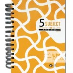 UKAMI RING 5 SUBJECT NOTE BOOK A5 (S8530)