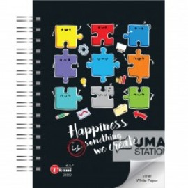 image of UKAMI H/C RING NOTE BOOK A5 (S-8532)