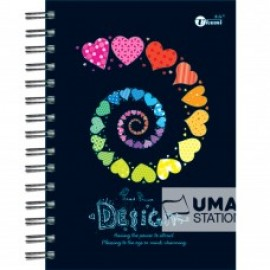 image of UKAMI RING NOTE BOOK A5 (S8534)