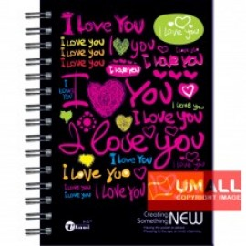 image of UKAMI RING NOTE BOOK A5 (S-8536)