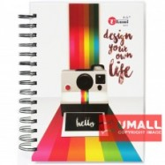 image of UKAMI RING NOTE BOOK A5 S8537