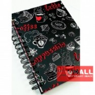 image of UKAMI FANCY RING NOTE BOOK A5 (S-8540)