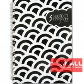 image of UKAMI 3-SUBJECT RING NOTE BOOK A4 (S8825)