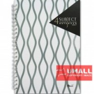 image of UKAMI 4-SUBJECT RING NOTE BOOK A4 (S8827)
