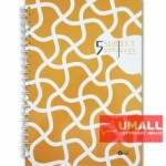 UKAMI 5-SUBJECT RING NOTE BOOK A4 (S8830)