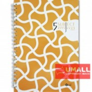 image of UKAMI 5-SUBJECT RING NOTE BOOK A4 (S8830)