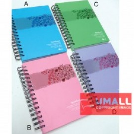 image of UKAMI RING NOTE BOOK A5 S9526A-D