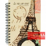 image of UKAMI FANCY RING NOTE BOOK A5 (U-8541)