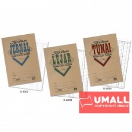 image of UNI BUKU LEJAR 80P (S-4003) 2 FOR