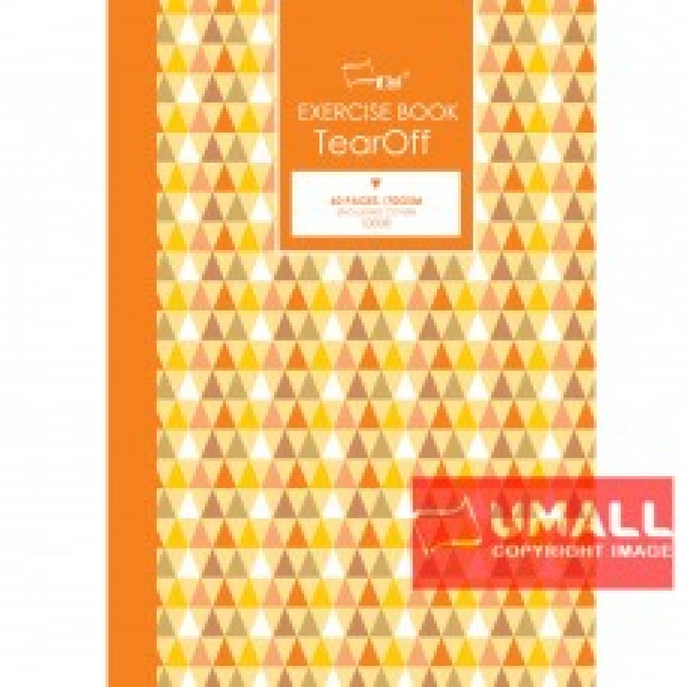 UNI TEAR OFF NOTE BOOK 70G A4-60P (S-3008) 2 FOR