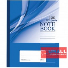 image of UNI NOTE BOOK 60G F5 120P (SBL1201) 2 FOR