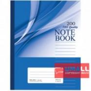 image of UNI NOTE BOOK 60G F5 200P (SBL2001)