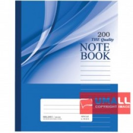 image of UNI NOTE BOOK 60G F5 200P (SBL2001)