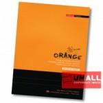 UNI ORANGE EXERCISE BOOK 70G F5 80P (SBL803) 3 FOR