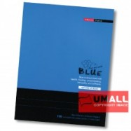 image of UNI BLUE EXERCISE BOOK 70G F5 100P (SBL1003) 2 FOR