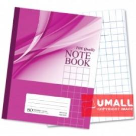 image of UNI NOTE BOOK 60G F5 80P (SBL805) MEDIUM SQUARE 3 FOR