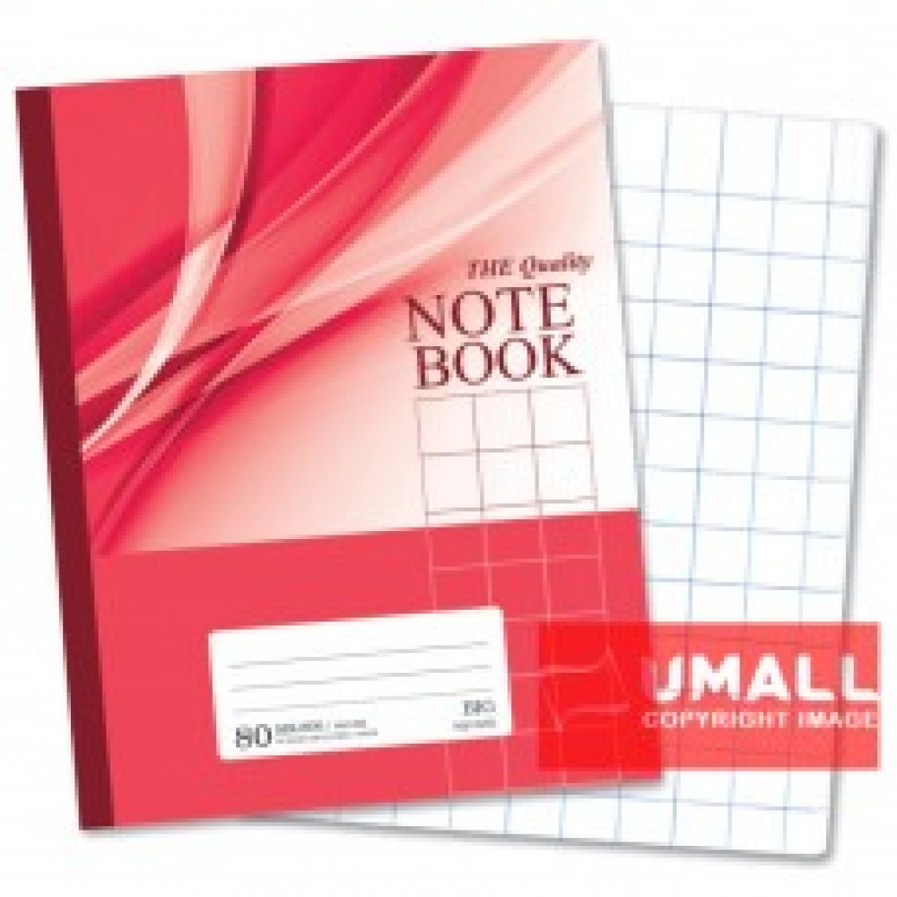 UNI NOTE BOOK 60G F5 80P (SBL806) BIG SQUARE 3 FOR