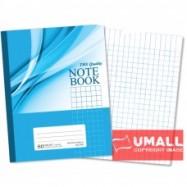 image of UNI NOTE BOOK 60G F5  80P (SBL807) MEDIUM SMALL SQUARE 3 FOR