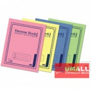 image of UNI EXERCISE BOOK (CARD COVER) 80P SBL-8082 (10 IN 1)